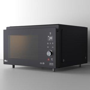microwave lg mj-3965bis 3D model