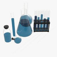 laboratory equipment 3D