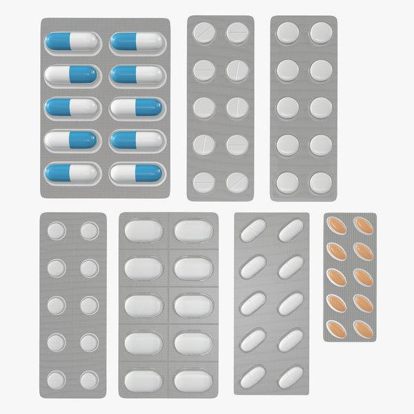 pill blister model