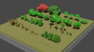 tree 40 3D