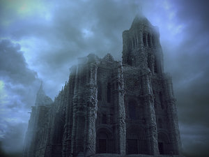 3D model mushroom cathedral