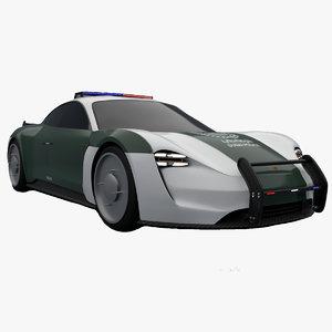 mission e concept 3D