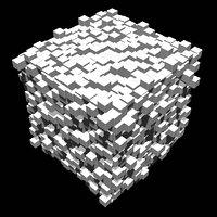 3D cube design sci model