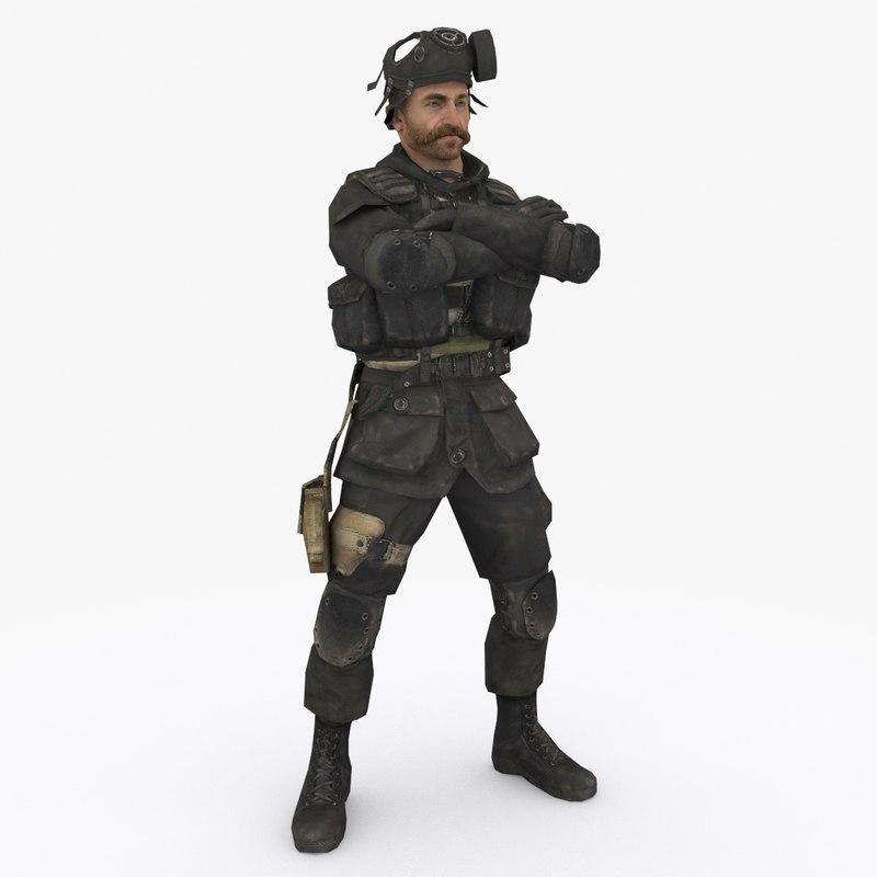 special forces 2 3D model