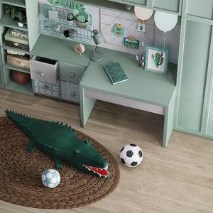 kid child toy interior furniture model