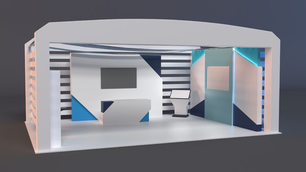 3D decor stand model