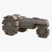 3D alkett vskfz 617 minenrumer