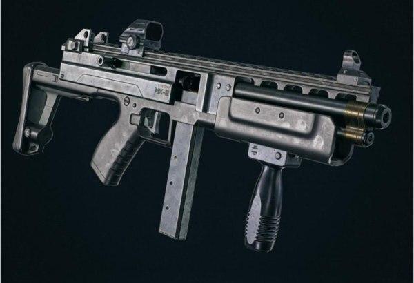 firearm gun weapon 3D model