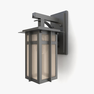 3D outdoor wall lantern 15 model