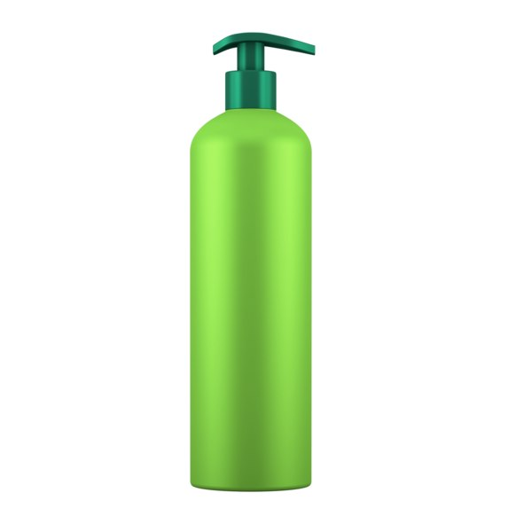 bottle gel green 3D model