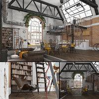 loft studio model