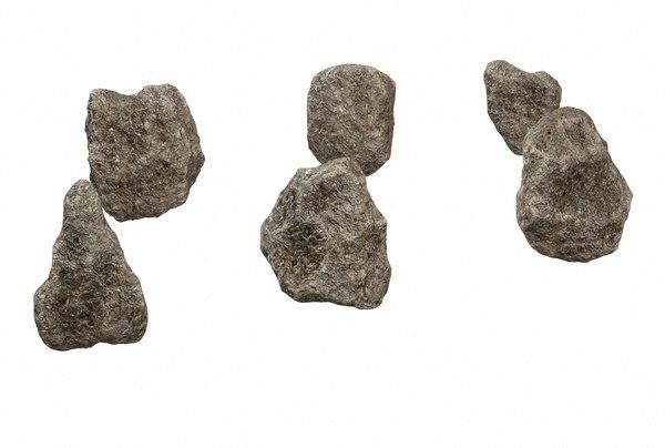 rocks minerals pbr 3D model
