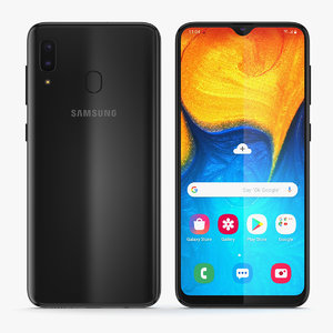 samsung galaxy a2 3D model