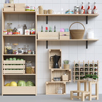 rack kitchen 3D