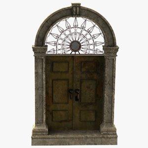 3D metallic door