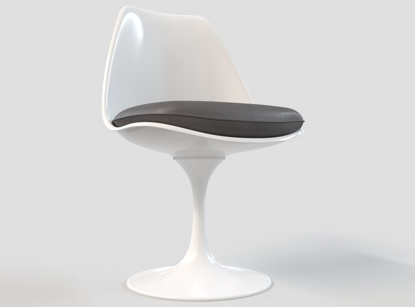 saarinen tulip armless 3D model