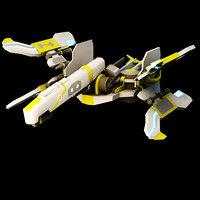 3D starfighter fighter