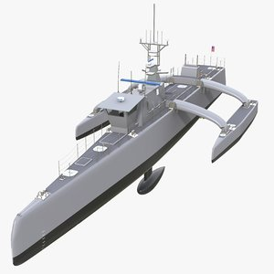 3D trimaran sea hunter actuv
