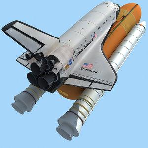 3d space shuttle 5