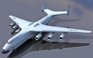3d antonov an-225 mriya