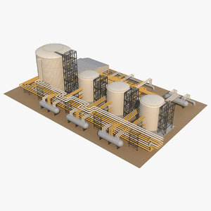 3D model industrial 5