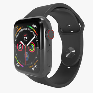 apple watch 4 series 3D