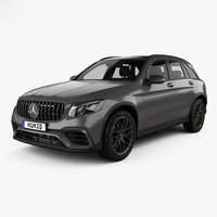 3D mercedes-benz glc-class glc model