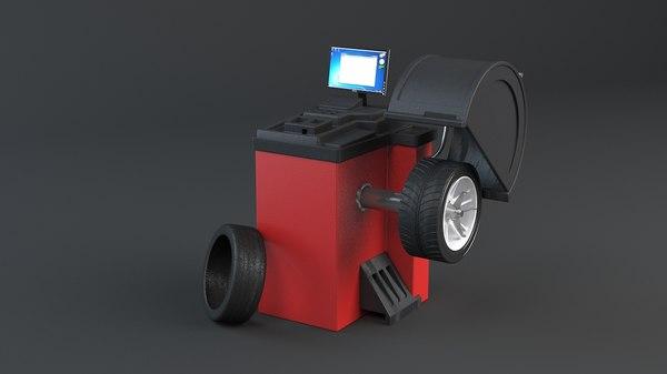 3D tire changer