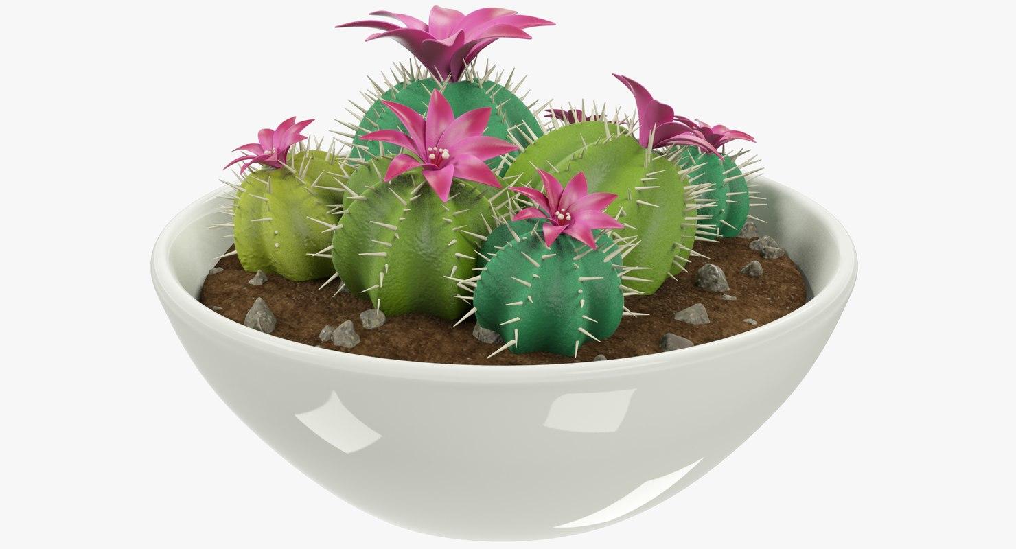 3D pot modeled model