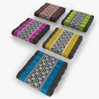 3D thai mattress pillow 01