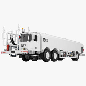 3D aircraft fueling truck- model