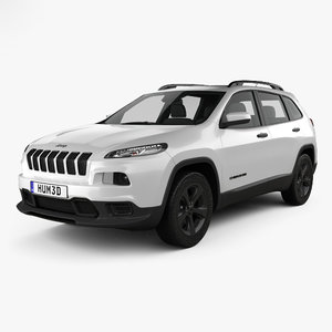 jeep cherokee limited 3D model