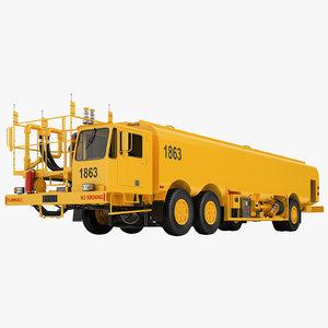 aircraft fueling truck- 3D model