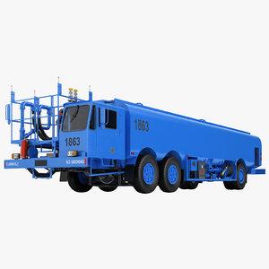 3D aircraft fueling truck- model