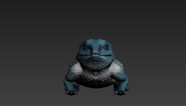 dragon bearded lizard 3D model