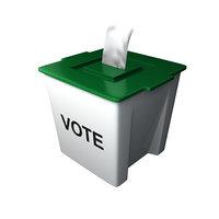 3D ballot box