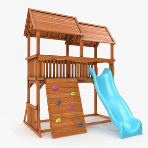 home playground 3D model