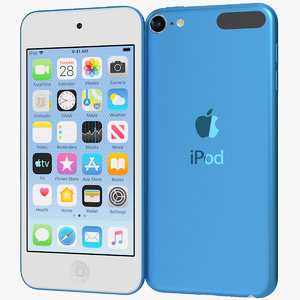 apple ipod touch 2019 3D
