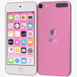 3D realistic apple ipod touch