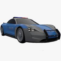 mission e concept 3D model