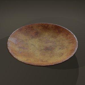 terracotta plate 3D model