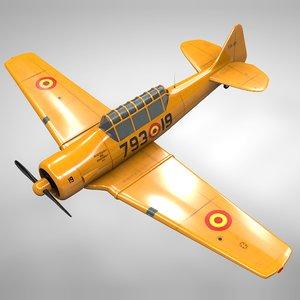 3D t6 texan 79319 l145 model