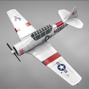 t6 texan marines rj model