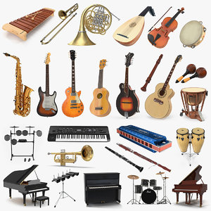 musical instruments 5 model