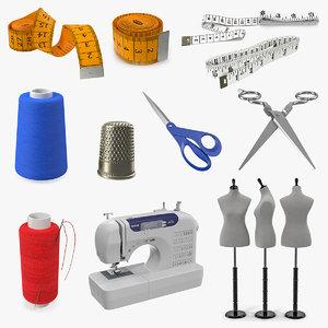 sewing 3 3D model