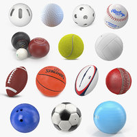 sport balls big 2 3D