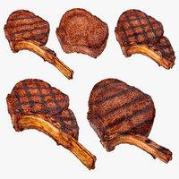 3D steaks bbq tomahawk