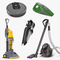 vacuum cleaners 4 cleaning 3D model