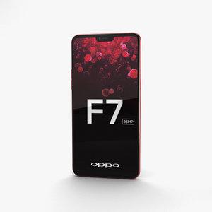 oppo f7 f 3D model