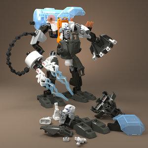 3D lego stormer